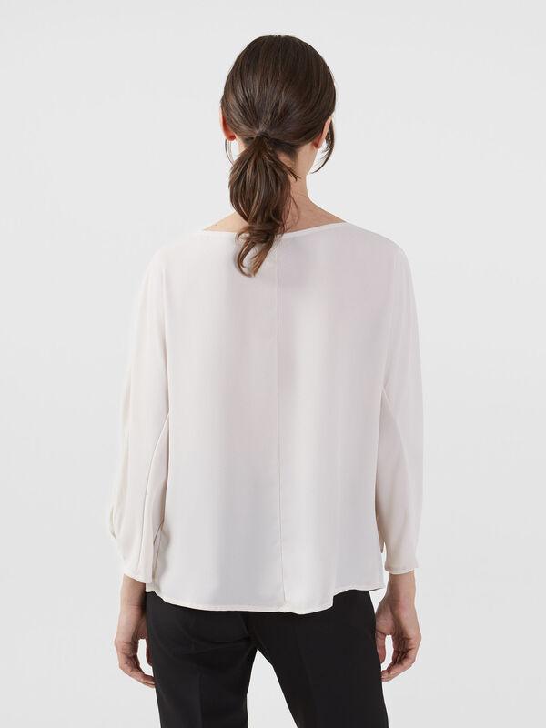 Кофта, блузка, футболка женская Trussardi Блузка женская 56C00218-1T002799 - фото 2