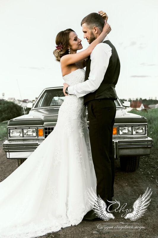 Свадебное платье напрокат ALIZA Свадебное платье «Mariel» Diva Vivien - фото 3
