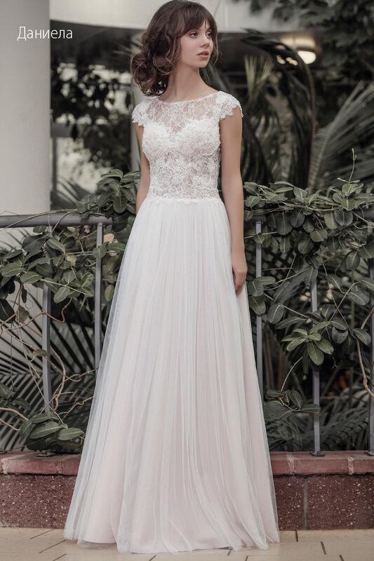 Свадебное платье напрокат Vintage Платье свадебное «Даниела» - фото 1