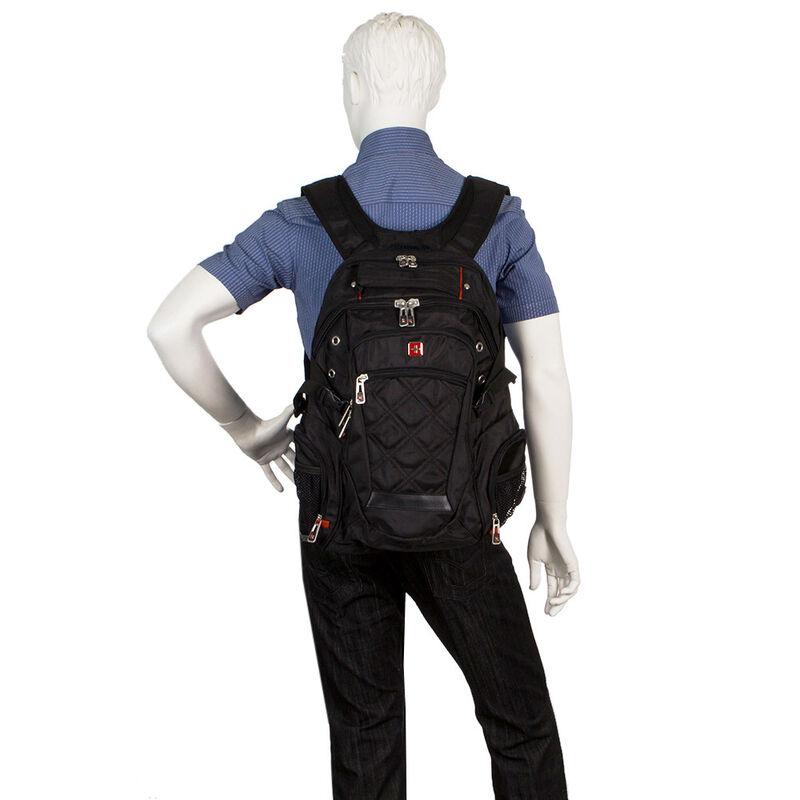 Магазин сумок SwissGear Рюкзак мужской черный 205-983013 - фото 2