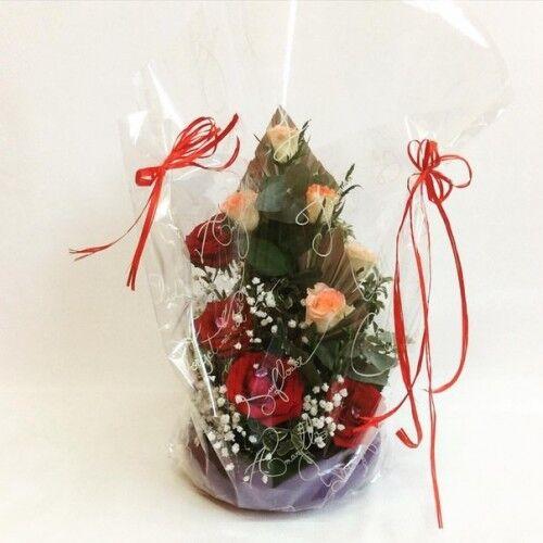 Магазин цветов Планета цветов Цветочная композиция №7 - фото 1