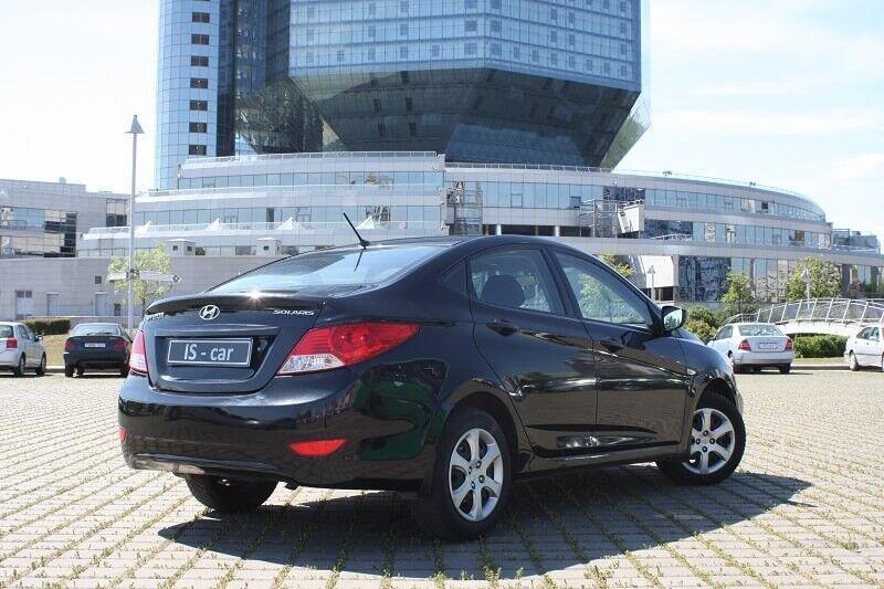 Аренда авто Hyundai Solaris 2013 г.в. - фото 2