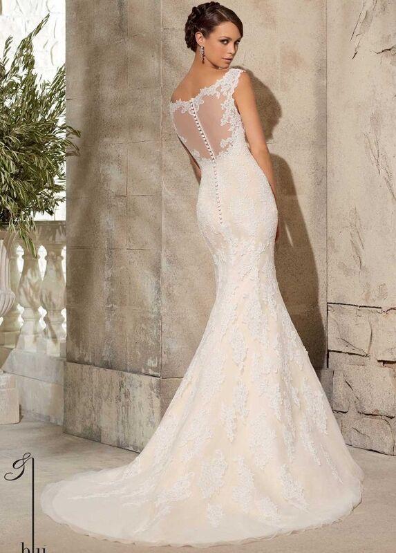 Свадебное платье напрокат Mori Lee Платье свадебное 5316 - фото 3