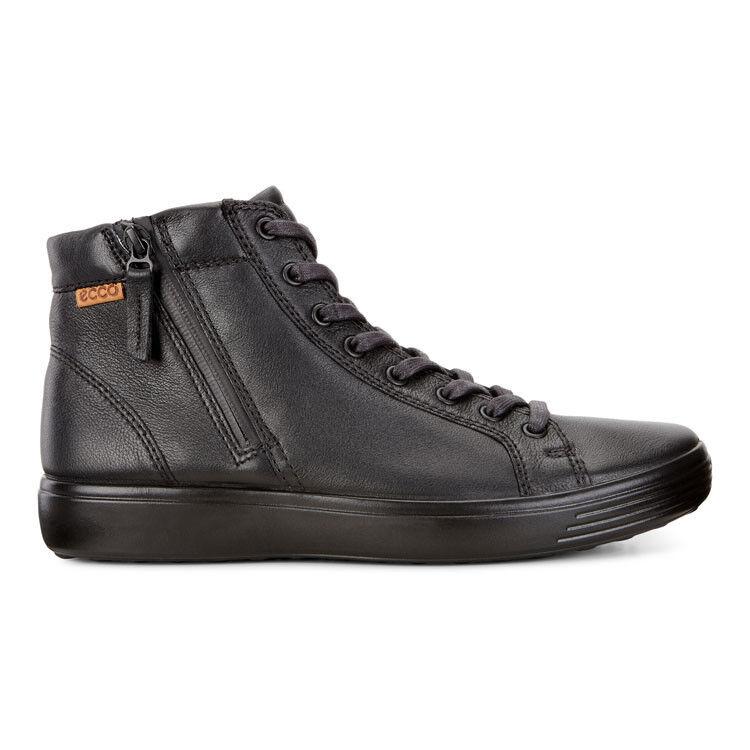 Обувь мужская ECCO Кеды высокие SOFT 7 430134/59075 - фото 3