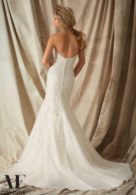Свадебное платье напрокат Mori Lee Свадебное платье 1322 - фото 3