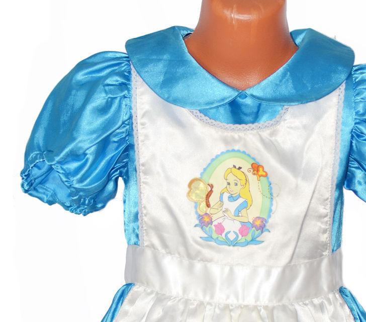Карнавальный костюм Disney Платье карнавальное «Алиса в Стране Чудес» - фото 2