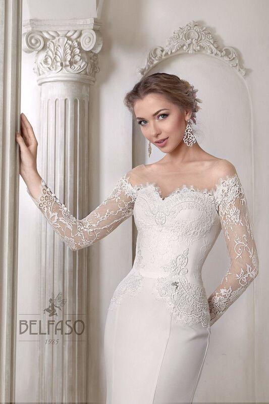 Свадебное платье напрокат Belfaso Платье свадебное Shantolie - фото 2
