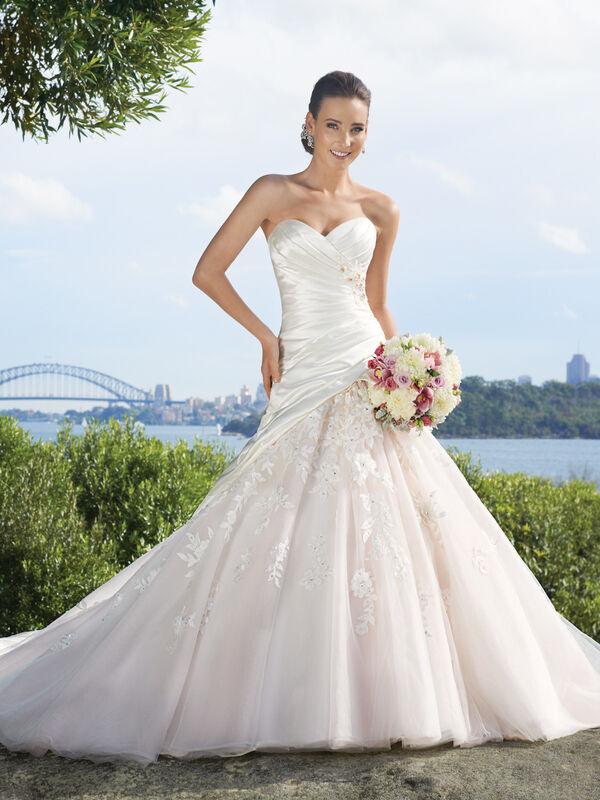 Свадебное платье напрокат Sophia Tolli Свадебное платье Y11300 Primrose 1 - фото 1
