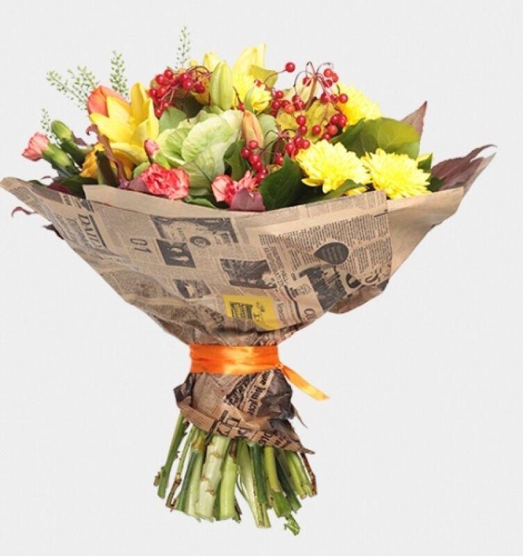 Магазин цветов Florita (Флорита) Букет «Осенний» - фото 1