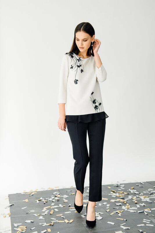 Кофта, блузка, футболка женская Burvin Блузка женская 6002 - фото 1