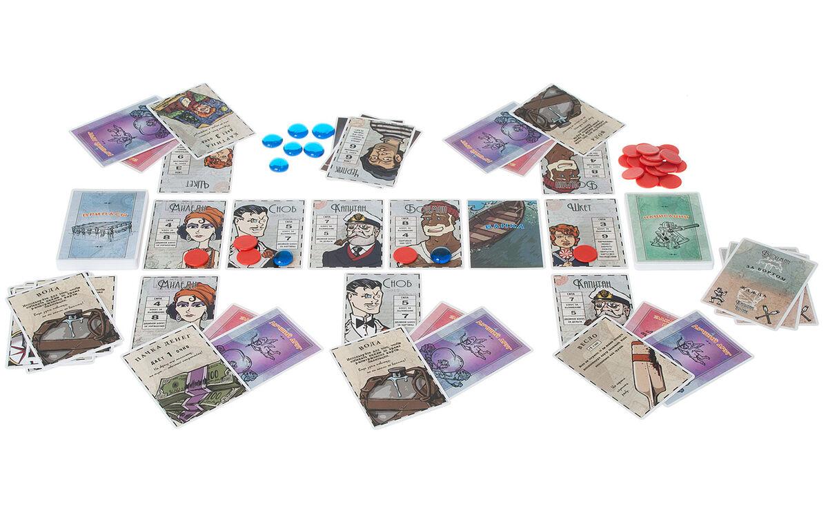 Магазин настольных игр Magellan Настольная игра «За бортом!» - фото 6