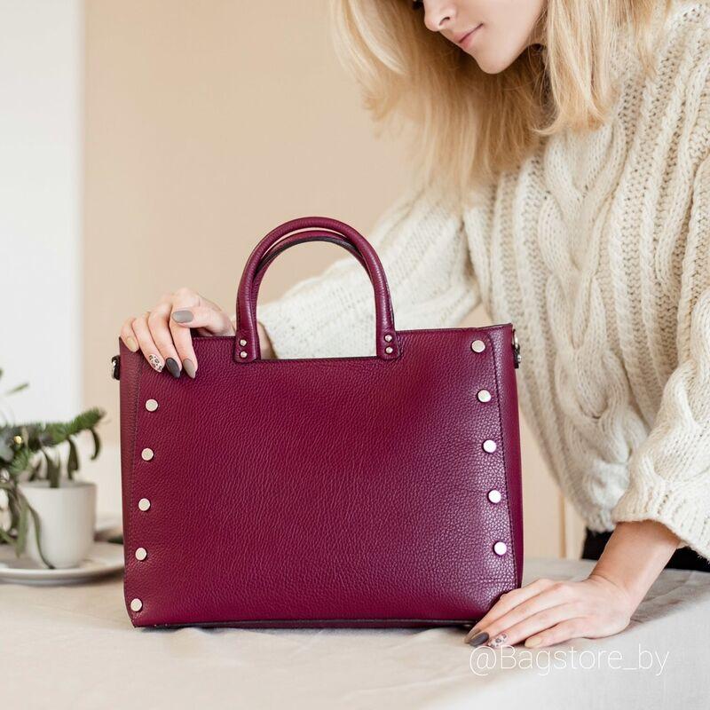 Магазин сумок Vezze Кожаная женская сумка C00414 - фото 1