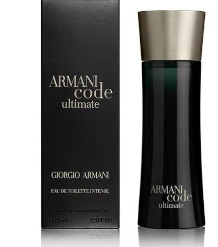 Парфюмерия Giorgio Armani Туалетная вода ARMANI code ultimate, 30 мл - фото 1