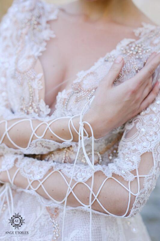 Свадебный салон Ange Etoiles Свадебное платье AEriality Collection  Olivia - фото 3
