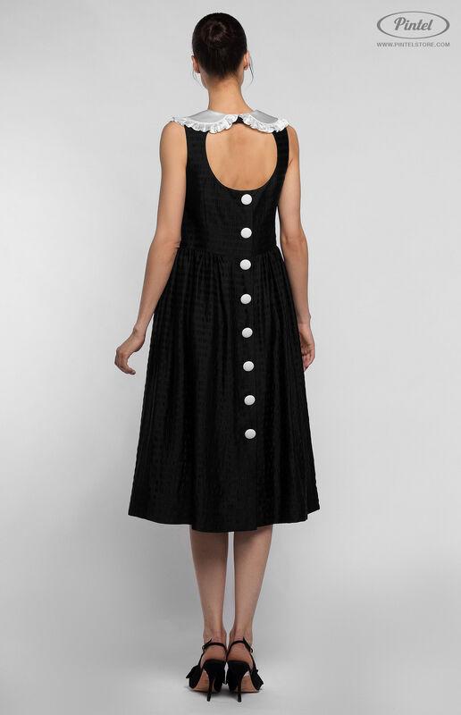 Платье женское Pintel™ Миди-платье свободного силуэта Bernice - фото 2
