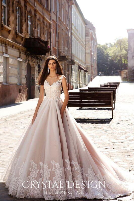 Свадебный салон Crystal Платье свадебное Avrora - фото 1