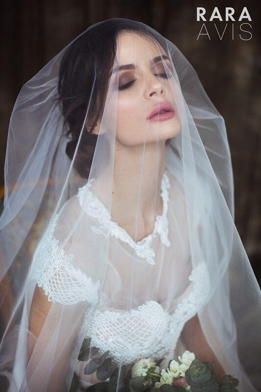 Свадебный аксессуар Rara Avis Фата №14 - фото 1