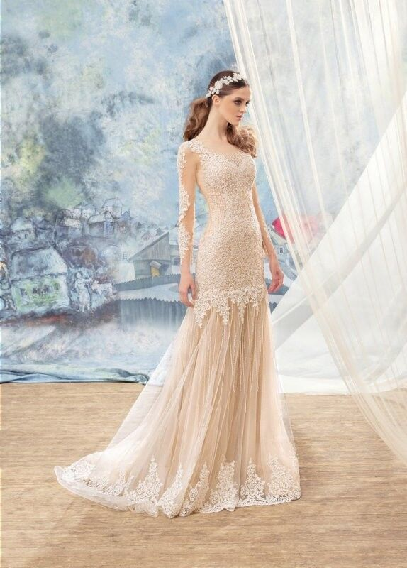Свадебный салон Papilio Свадебное платье «Квезаль» 1704L - фото 2