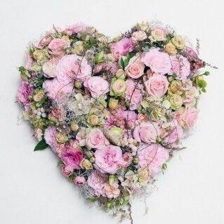 Магазин цветов Ветка сакуры Композиция «Сердце» 2 - фото 1