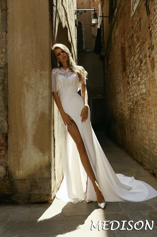 Свадебный салон Bonjour Galerie Свадебное платье Medison из коллекции La Douceur - фото 1