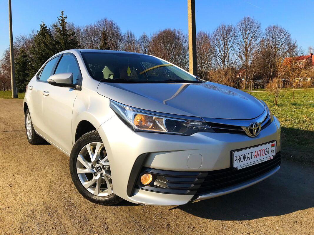 Прокат авто Toyota Corolla New 2017 - фото 2