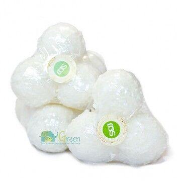 Уход за телом SoapDillaJane Кокосовый мыльно-сахарный скраб, 60 г - фото 1