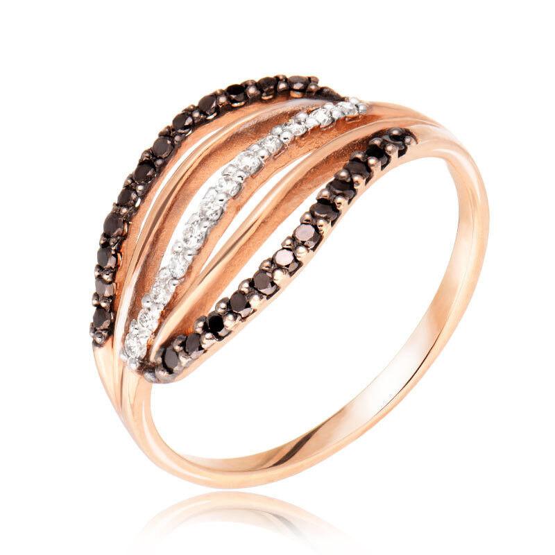 Ювелирный салон Jeweller Karat Золотое кольцо с бриллиантами арт. 1211896/1ч - фото 1