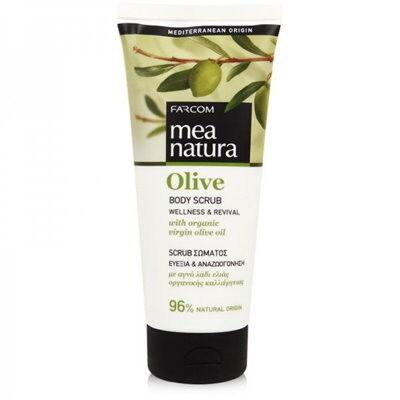 Farcom MEA NATURA Olive Скраб для тела с оливковым маслом 200 мл.