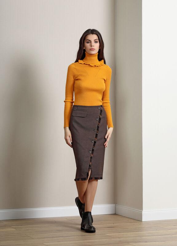 Кофта, блузка, футболка женская Burvin Свитер женский 5818 - фото 2