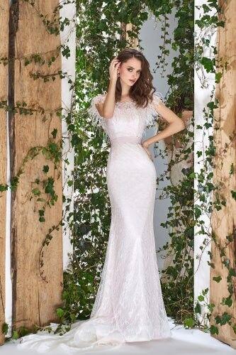 Свадебный салон Papilio Свадебное платье «Wonderland» #1808-L Водяная лилия - фото 1