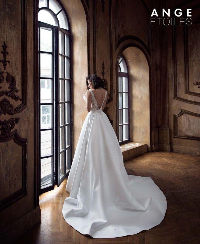 Свадебное платье напрокат Ange Etoiles Платье свадебное Charm 2017 Regina - фото 1