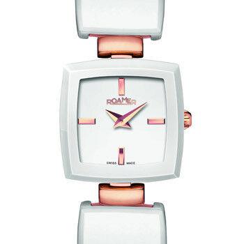 Часы Roamer Наручные часы Ceraline Carre 672953 99 25 60 - фото 1