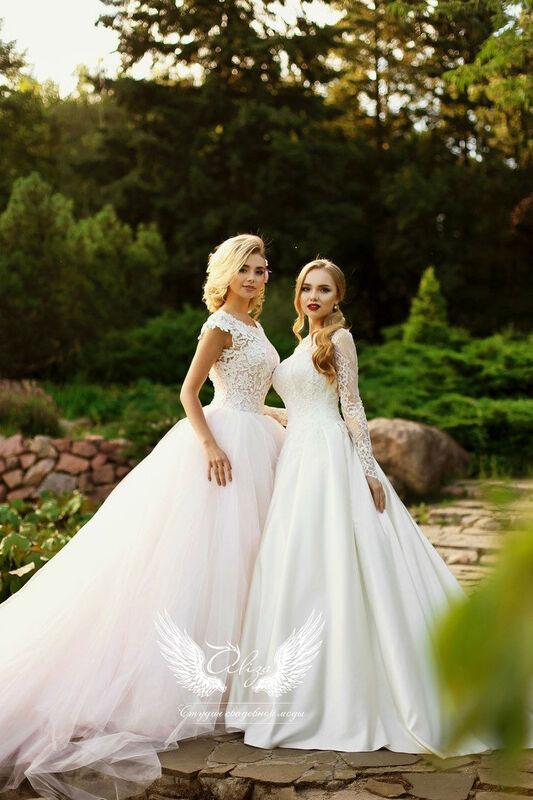 Свадебный салон ALIZA Платье свадебное «Грация» Soffito - фото 3