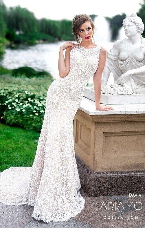 Свадебное платье напрокат Ariamo Bridal Платье свадебное Davia - фото 1