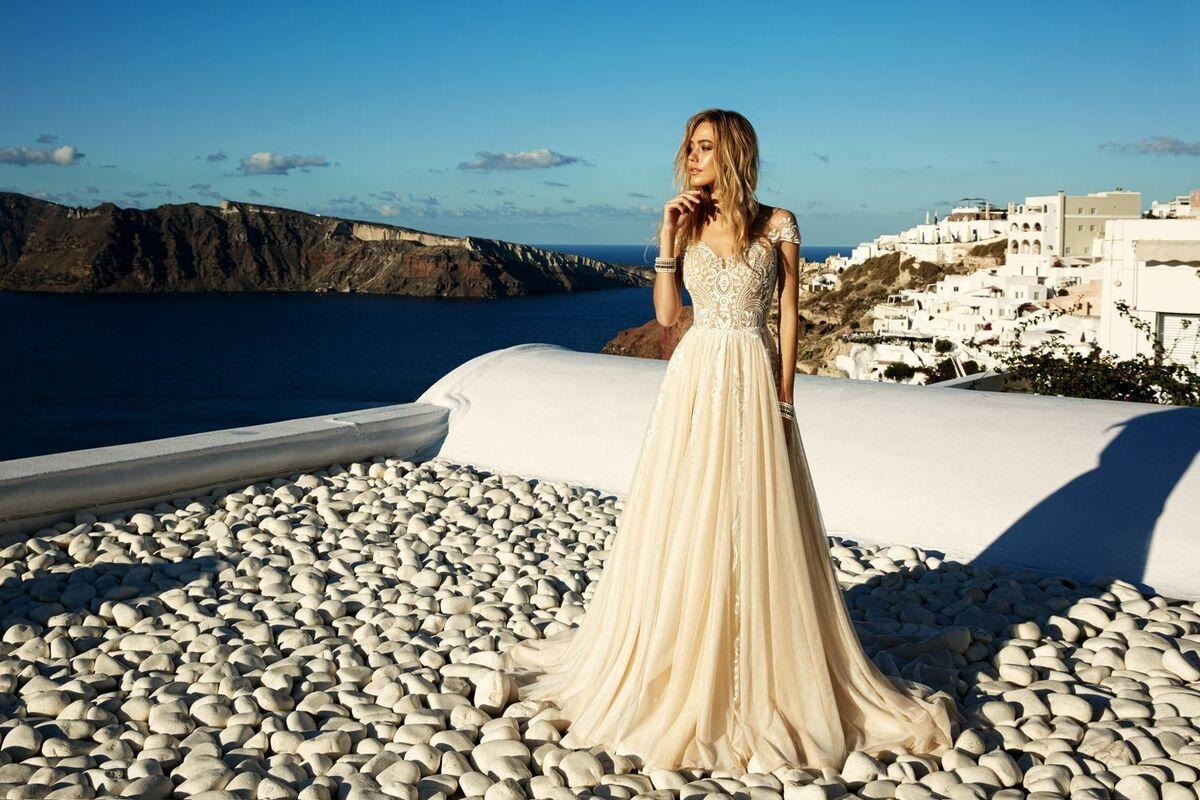 Свадебное платье напрокат Eva Lendel Платье свадебное Cameron - фото 2