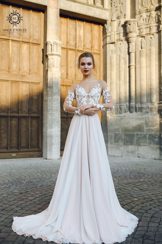 Свадебное платье напрокат Ange Etoiles Платье свадебное AEriality Collection  Filisi - фото 1