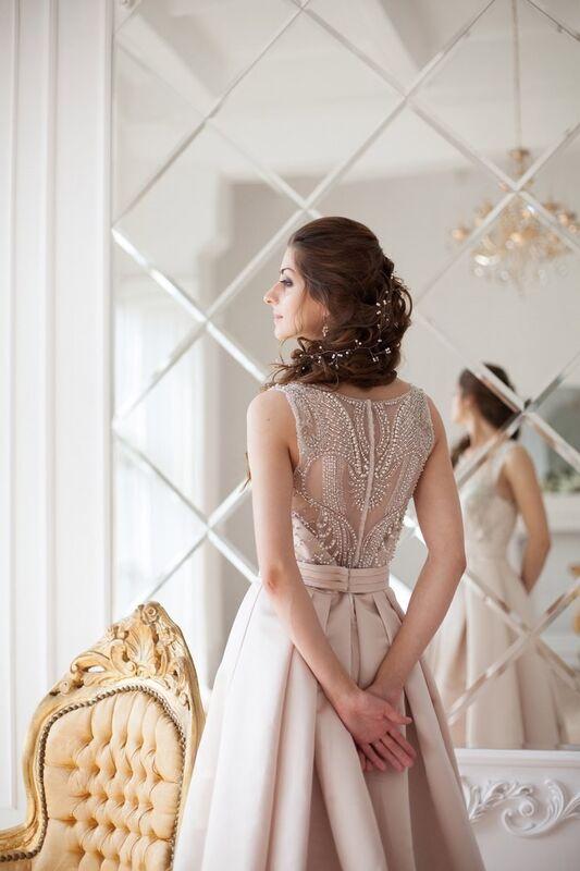 Свадебное платье напрокат La Festa Вечернее платье 115-3 - фото 4