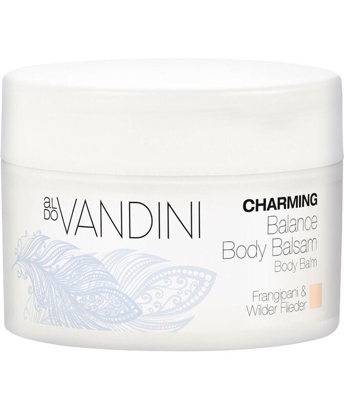 Уход за телом Aldo Vandini Бальзам для тела балансирующий Красный жасмин и сирень CHARMING Balance Body Balsam Frangipani & Wild Lilac - фото 1