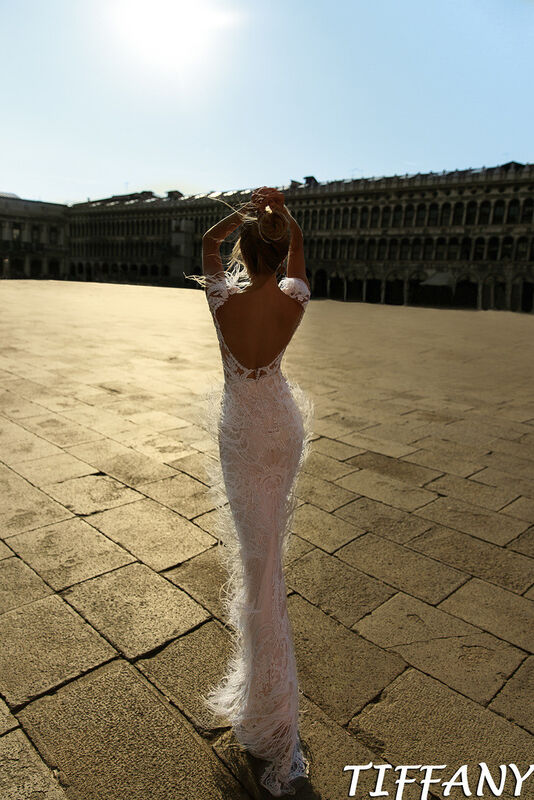 Свадебный салон Bonjour Galerie Свадебное платье Tiffani из коллекции La Douceur - фото 3