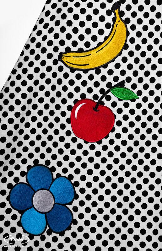Верхняя одежда женская Pintel™ Романтичный кейп в горошек Jacqueline - фото 7