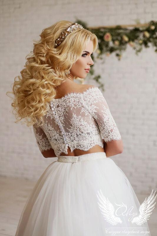 Свадебный салон ALIZA Свадебное платье «Emmira» Soffito - фото 3