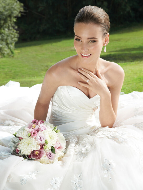 Свадебное платье напрокат Sophia Tolli Свадебное платье Y11300 Primrose 1 - фото 3