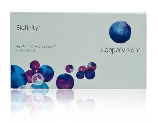 Линзы Cooper Vision Контактные линзы Biofinity - фото 1
