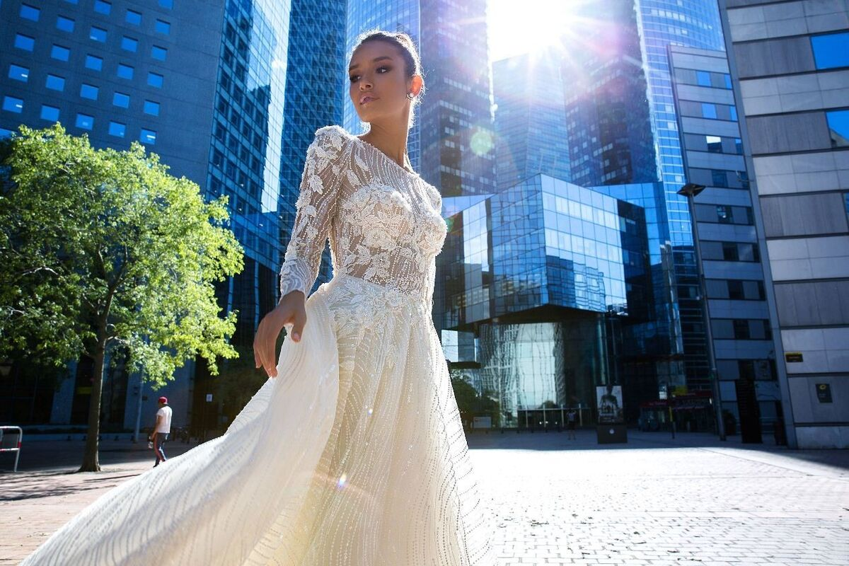 Свадебный салон Crystal Модель  Vilma - фото 2