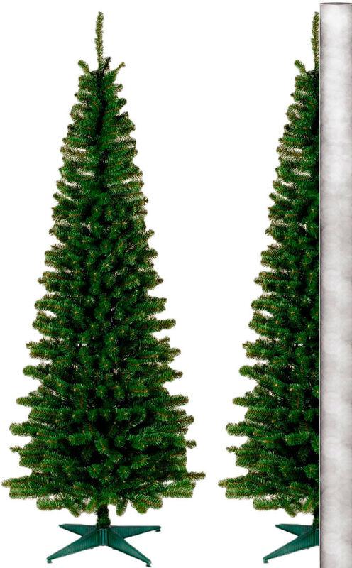 Елка и украшение GreenTerra Ель «Силуэт» пристенный 2.2м - фото 1