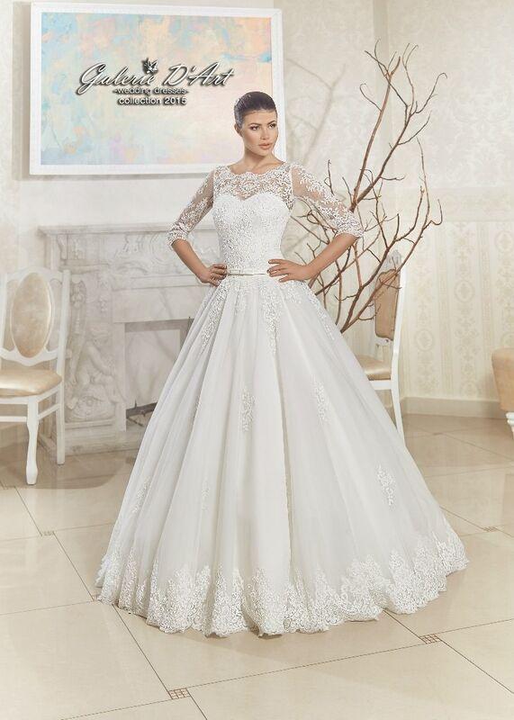 Свадебное платье напрокат Galerie d'Art Платье свадебное «Ariadna» из коллекции BESTSELLERS - фото 1