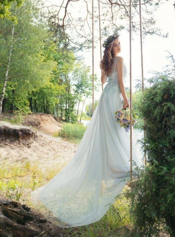 Свадебный салон Papilio Свадебное платье «Синица» 1750L - фото 3