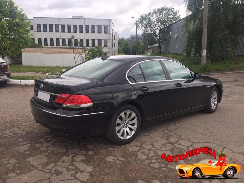 Прокат авто BMW 730 (e66) - фото 3