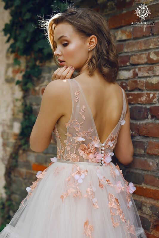 Свадебный салон Ange Etoiles Свадебное платье AEriality Collection  Lis - фото 3