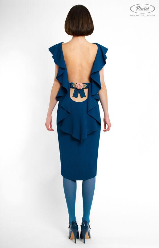 Платье женское Pintel™ Облегающее платье Olimma - фото 4